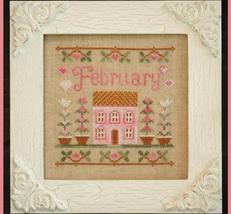 February Cottage of the Month Series cross stitch chart Country Cottage Needlewo - $5.40