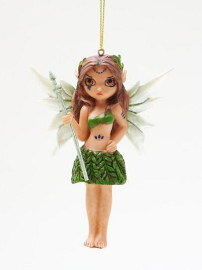 STRANGELING FAIRY ORNAMENT TRIBAL HUNTER JASMINE GRIFFITH