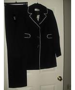 Le Suit New Black /White 2PC Pant Suit    8   $200.00 - $48.99