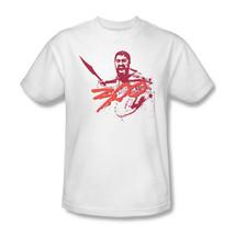 300 T-shirt Free Shipping King Leonidas Sparta gladiator movie cotton tee WBM101 image 2