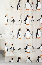 Penguin Designer Peva Shower Curtain 180 X 200cm - $11.87
