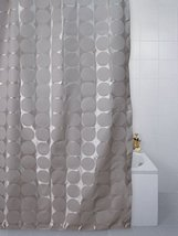 Sphere Design Gold Polyester Shower Curtain 180 x 200cm - $16.32