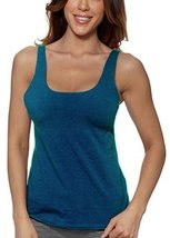 Alessandra B Underwire Sports Bra Tank Top (36D, Teal) - $29.99