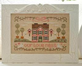 Our Love Nest cross stitch chart Country Cottage Needleworks - $7.20