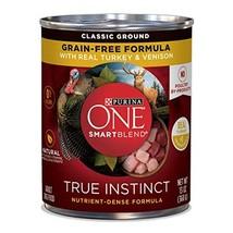 Purina One Smartblend True Instinct Natural Classic Ground Grain-Free Fo... - $38.69