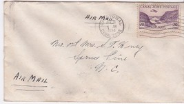 Cristobal Canal Zone April 14, 1934 On Grace Line Envelope - $3.58