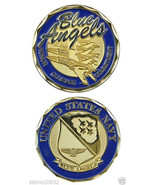 NEW United States U.S. Navy Blue Angels Challenge Coin. 2363. - $13.99