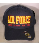 NEW USAF United States Air Force logo cap hat. Navy Blue. - $11.99