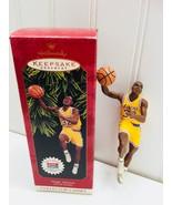 Hallmark Keepsake Ornament Magic Johnson 22794 Christmas Hoop Stars Bask... - $9.64