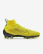 Nike Vapor Untouchable Pro 3 Football Cleats Yellow Men Size 10 New 9171... - $74.79