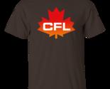 Cfl  logo  canadian  football  league  men s t shirt   dark chocolate thumb155 crop