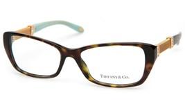 New Tiffany & Co Tf 2117-B 8015 Havana Eyeglasses Frame 53-16-140mm Italy - $163.34