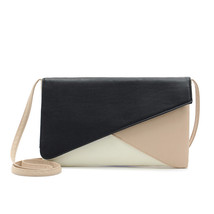 Crossbody Bags Lady PU Leather Solid envelope Handbags - $430,21 MXN