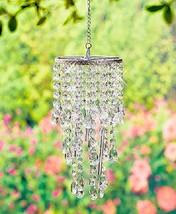 Chandelier Wind Chimes Crystal Clear - $17.60