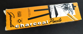 Vintage lot of 11 General's Charcoal Pencils #557 2B Pre-sharpened - $13.81