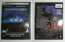 The Lawnmower Man with Jeff Fahey & Pierce Brosnan - dvd - $2.22