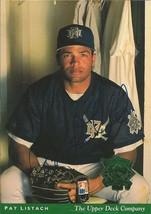 Pat Listach 1994 Upper Deck All Star Jumbo Autograph #9 Brewers - $18.58