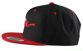 Dissizit Straight Crack Yupoong Wool Blend O/S Cap Black Red Embroidered Hat NWT image 13