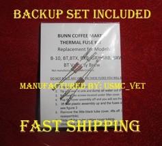 Fix Your Bunn Coffee Maker WATER NOT HEATING? T... - $14.95