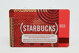 Starbucks Coffee 2009 Gift Card (STARBUCKS) Red Zero Balance No Value (A) - $11.27