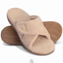 Orthaheel The Lady's Plantar Fasciitis Slipper Slides Shoes Size 8 Tan - $39.59