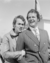 Tony Curtis and Roger Moore in The Persuaders! laughing on set portrait 16x20 Ca - $69.99