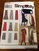 Simplicity 8544 Sewing Pattern, Misses' Petite Jumper of Vest, Size Y (18-22) - $12.38
