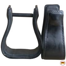 Horse Western Saddle Stirrup Leather Stirrups Pair Hilason U-T104 - $64.30