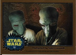 1999 Topps Star Wars Chrome Archives #12 Distracted By Solo's Assault - $1.49