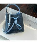 NWT Michael Kors Suri Small Leather Logo Bucket Crossbody Handbag Muti Colors - $96.95 - $112.47