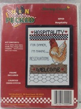 """Stoney Creek Collection Hen Pecked HP09 """"Hospitality"""" - $11.88"""