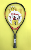 """NEW Kid Childrens Wilson Tour Roger Federer 21"""" Junior 5-6 Age Tennis Ra... - $18.13"""