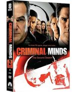 Criminal Minds: The Second Season (DVD, 2007, 6-Disc Set) - £10.73 GBP