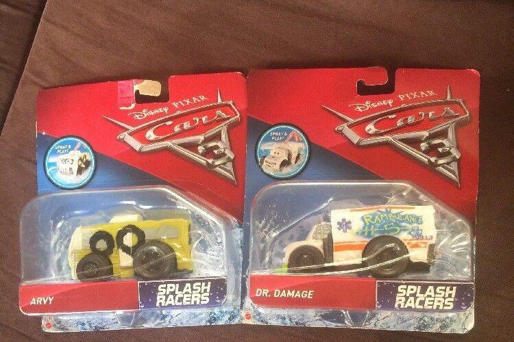 NEW UNOPENED Disney Pixar Cars 3 Racers Vehicle Arvy And Dr Damage 2cars