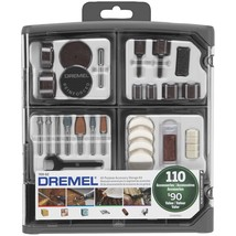 Dremel 110-piece All-purpose Accessory Storage Kit DML70902 - $47.48