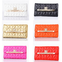 Luxury Leather Bling Diamond Bow Wallet Flip Case Cover For iPhone6 & 6 Plus HTB - $11.29+
