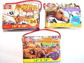T.S. Shure Puzzle Set: 24 Piece Each 14'' x 10'' 3 PACK (c) - $12.17