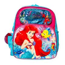Disney Ariel Mermaid Backpack Girls School Book, Travel Play Bag 12 inch Toddler - $19.95