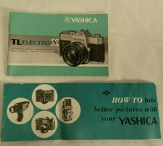 YASHICA TLELECTRO-X ITS multilingual Instruction booklet  VGUC (U) - $23.33
