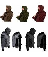 Cosplay Medieval Vintage Warrior Soldier Knight  Armor Knee Sweater Men ... - $42.76
