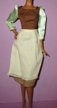 Disney Store Cinderella Peasant Princess Dress Gown Outfit Doll Fashion ... - $24.99