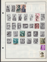 100 Spain 1961 - 1967 stamps - $9.79
