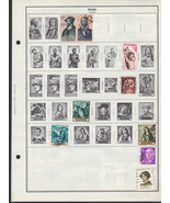 100 Spain 1961 - 1967 stamps - $12.87 CAD