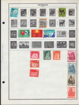 100+ Switzerland 1966 - 1978 stamps - $9.79