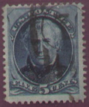 1875 #179 5cent used - $6.62