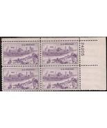 1950  #994, 995, 996, 998 Plate Blocks of 4 unused * - $7.11