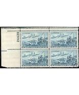 1951 #1000, 1001, 1002 Plate Blocks of 4 unused * - $5.15