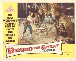 Bimbo the Great 11x14 Lobby Card #8 - $7.83