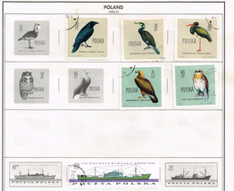 114  Poland 1960 -1963  stamps - $9.79