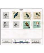 114  Poland 1960 -1963  stamps - €8,43 EUR